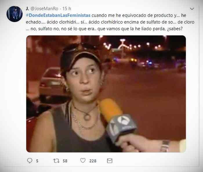 Es trending topic: #DondeEstabanLasFeministas 3