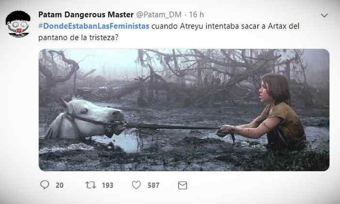 Es trending topic: #DondeEstabanLasFeministas 14