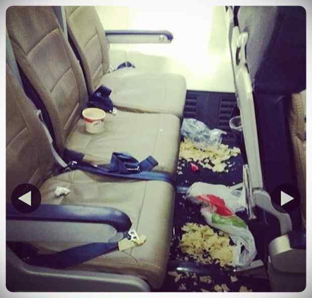Extrañas y sorprendentes cosas que puedes encontrarte en un vuelo. 3