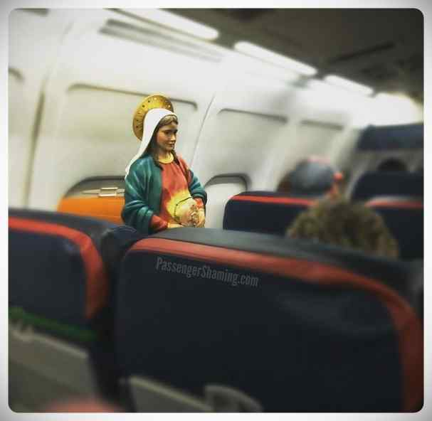 Extrañas y sorprendentes cosas que puedes encontrarte en un vuelo. 4