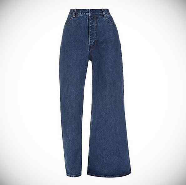 Cuidado, llegan los pantalones vaqueros asimétricos. 4