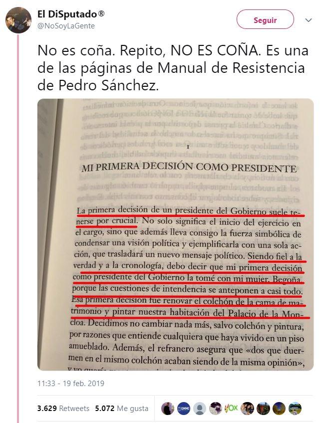 Y cuando pensabas que nadie podría superar a Rajoy... llega Pedro Sánchez. 21