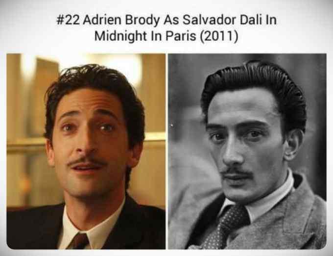 Increíble galería de imágenes de actores caracterizados para sus papeles. 5