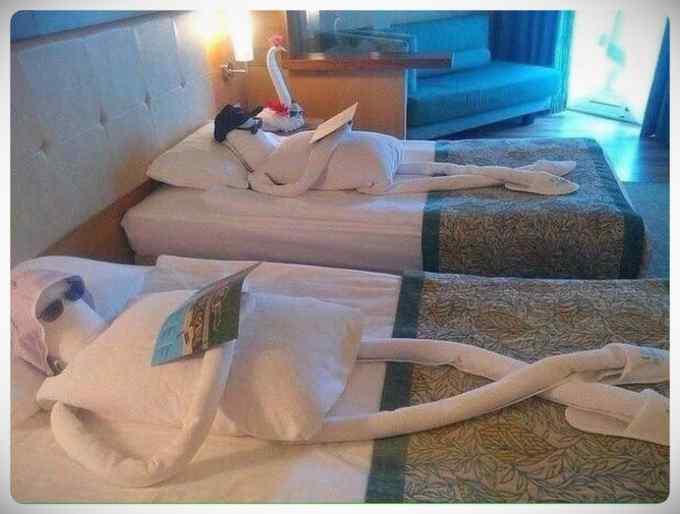 Extrañas cosas que te encuentras en un hotel. 7