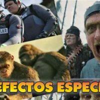 Alucina viendo estas secuencias de cine antes y después de los efectos especiales.