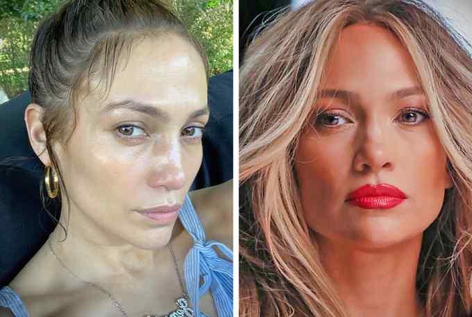 Impresionantes fotos de 10 famosas sin maquillar. 6