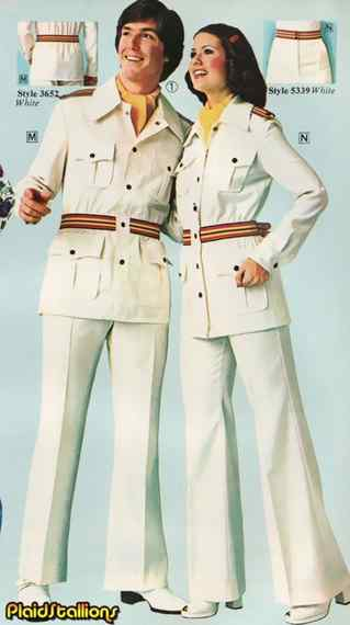 Cuando veas la moda de los años 70, vas a ver que no eres tan moderno como pensabas. 8