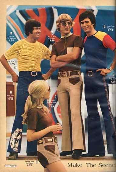 Cuando veas la moda de los años 70, vas a ver que no eres tan moderno como pensabas. 9