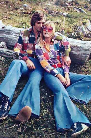 Cuando veas la moda de los años 70, vas a ver que no eres tan moderno como pensabas. 6
