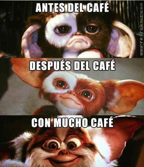 El café me da la vida. 1