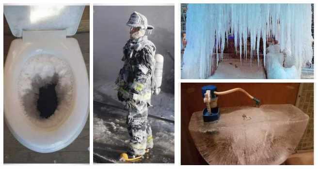 Sorprendentes imágenes de la ola de frió en Estados Unidos. 1