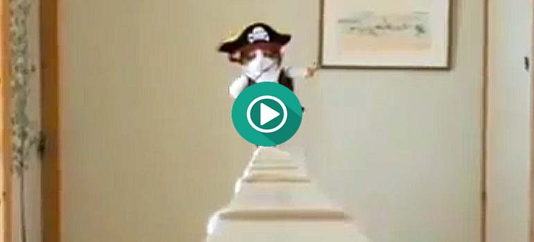 Este gato disfrazado de pirata, te va volver loco. 9