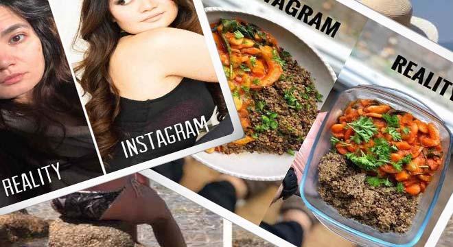 No te creas todo lo que veas por Instagram. Galería de fotos. 2