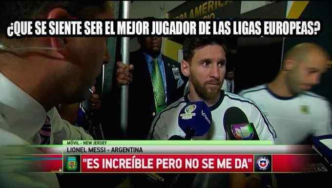 Los memes de Messi por la derrota de Argentina contra Venezuela. 2