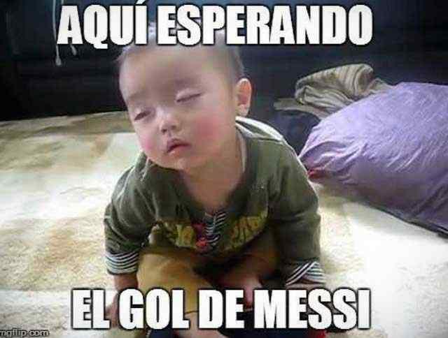 Los memes de Messi por la derrota de Argentina contra Venezuela. 3