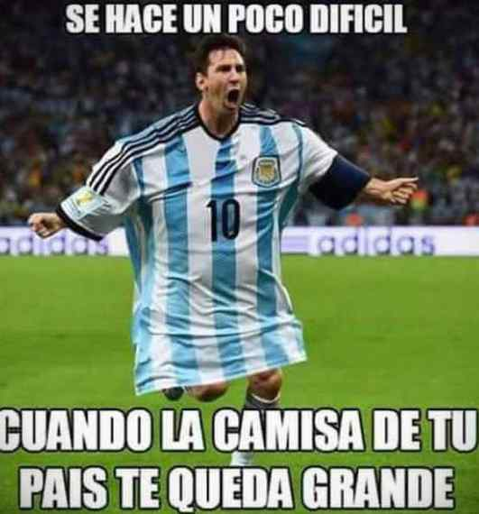 Los memes de Messi por la derrota de Argentina contra Venezuela. 4