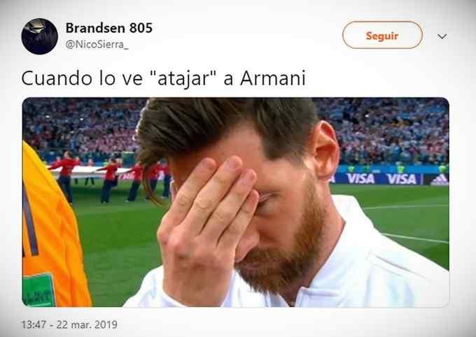 Los memes de Messi por la derrota de Argentina contra Venezuela. 5