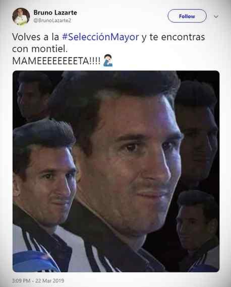 Los memes de Messi por la derrota de Argentina contra Venezuela. 8