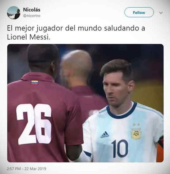 Los memes de Messi por la derrota de Argentina contra Venezuela. 11