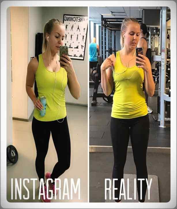 No te creas todo lo que veas por Instagram. Galería de fotos. 16