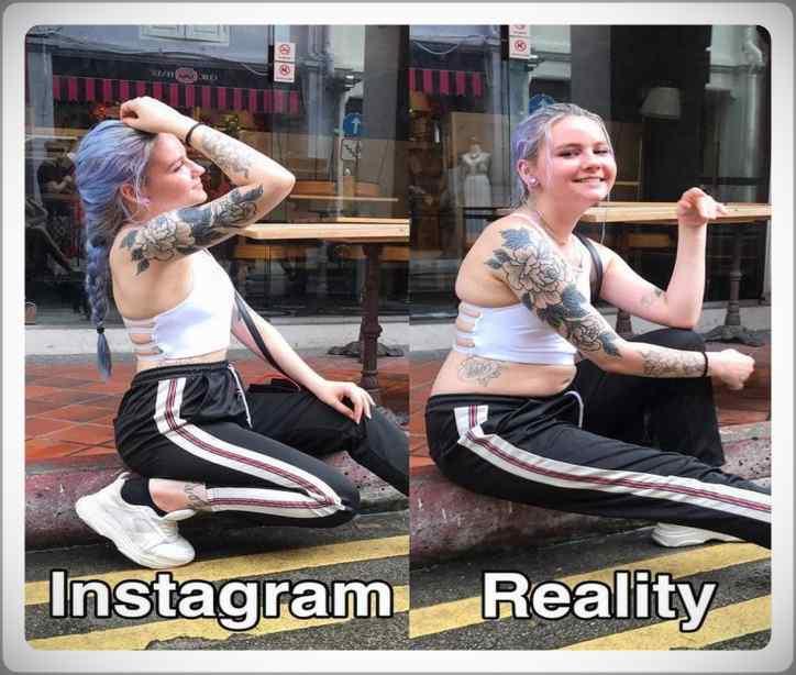 No te creas todo lo que veas por Instagram. Galería de fotos. 3
