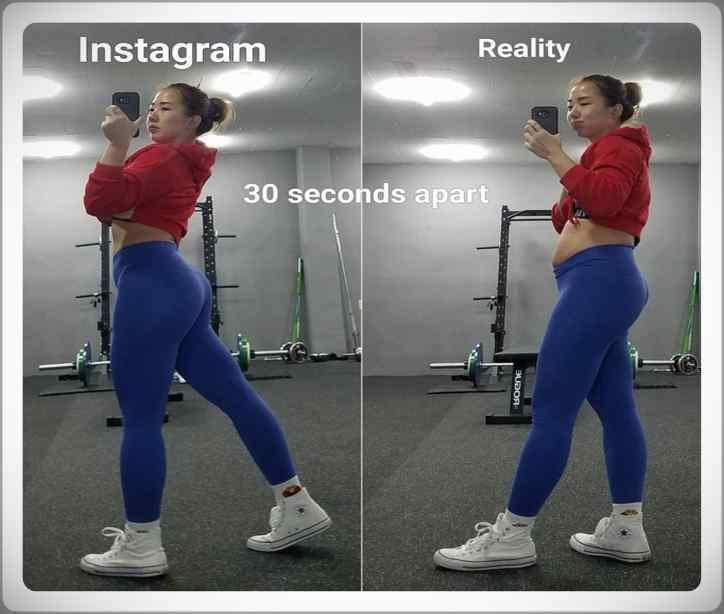 No te creas todo lo que veas por Instagram. Galería de fotos. 4