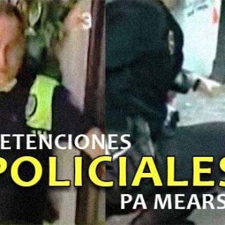 Dos detenciones policiales para mearse de la risa.