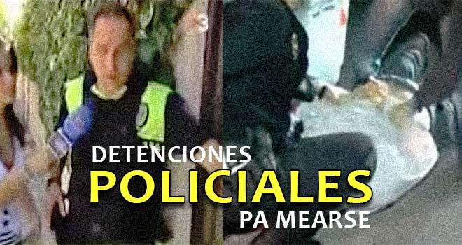 Dos detenciones policiales para mearse de la risa. 3