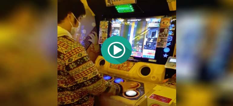 Jugador Japones activa el modo Dios. 6