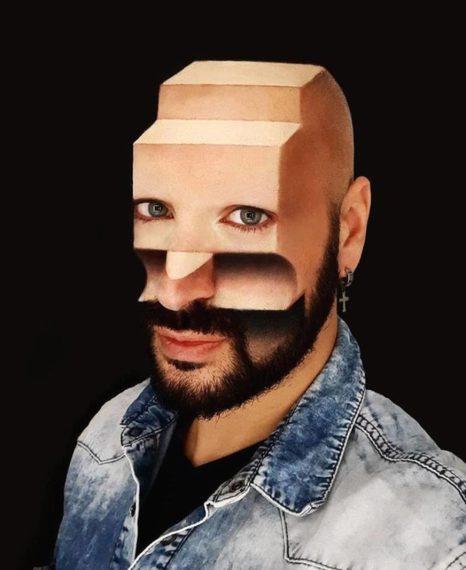 Espectacular maquillaje en 3D de la mano de Luca Luce. 8