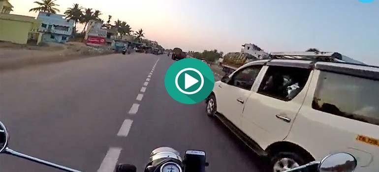 A este motorista la vida le da una segunda oportunidad.
