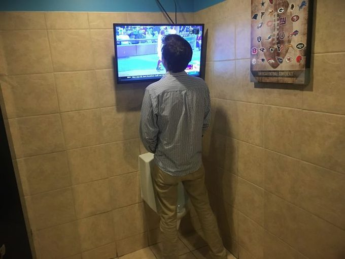 Te vas a asombrar con estos cuartos de baño tan extraños. 12