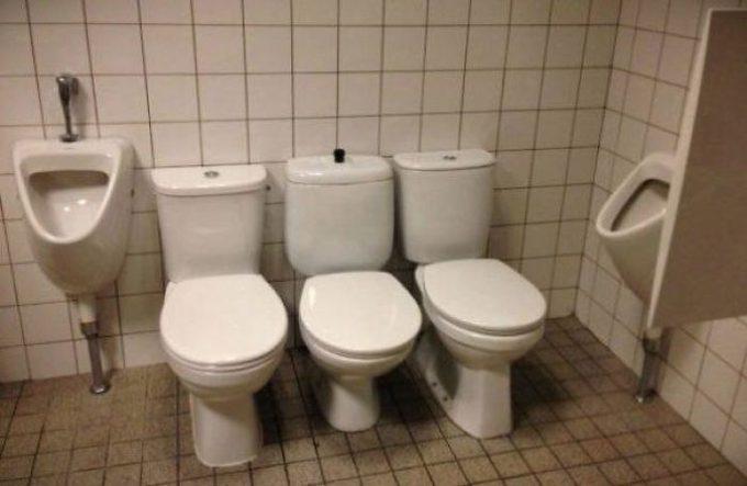 Te vas a asombrar con estos cuartos de baño tan extraños. 8