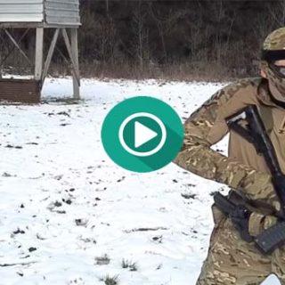 ¿Qué ocurre si un SWAT se pone a jugar una partida de Paintball?