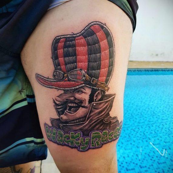Espectaculares tatuajes que parece auténticos bordados. 13