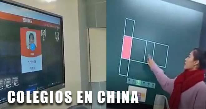 Los colegios Chinos y sus tecnologías. 1