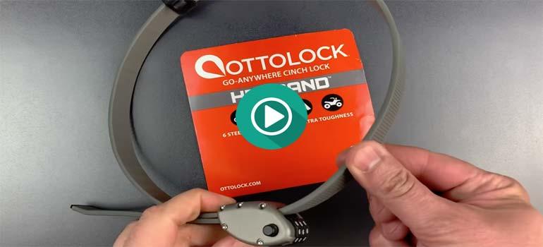 Le envían un nuevo candado para demostrar que no se puede abrir, y lo abre en segundos. 1
