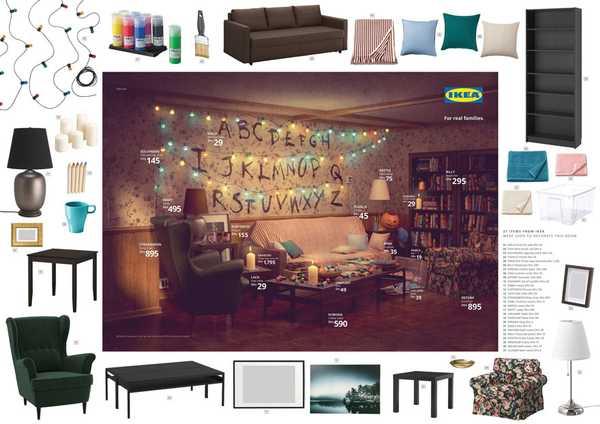 Los salones de tus series favoritas en el catalogo de Ikea. 3