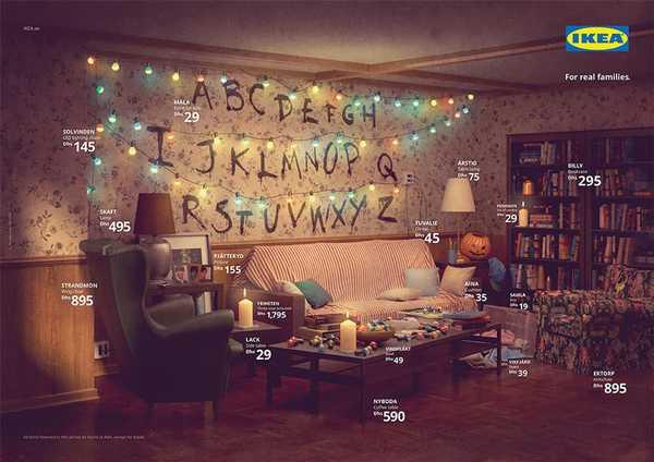 Los salones de tus series favoritas en el catalogo de Ikea. 2