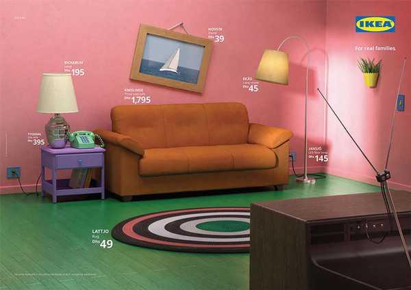 Los salones de tus series favoritas en el catalogo de Ikea. 5