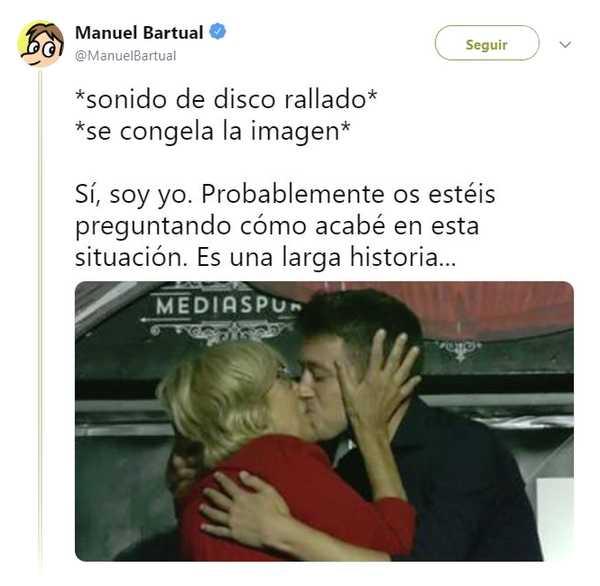 Memes del beso entre Iñigo Errejón y Carmena. 6