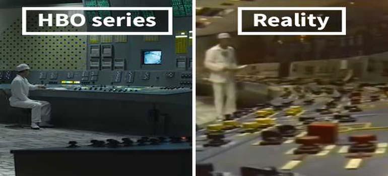 Chernobyl la seria vs la realidad. Fotos y vídeos.