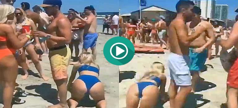 Chicas bromistas en un día de playa. 7