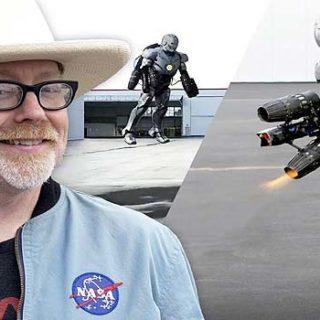 Adam Savage construye un traje de Iron Man, y vuela.