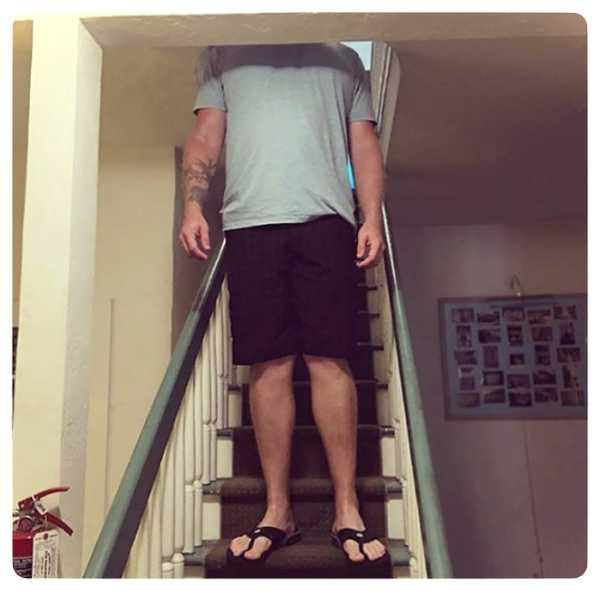 Los problemas de la gente alta, en imágenes. 20