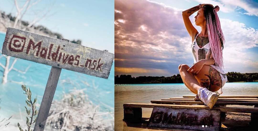 Instagramers despistados se hacen fotos en un basurero toxico apodado Novosibirsk Maldivas. 5