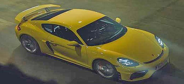 Vídeo del nuevo Porsche 718 Cayman GT4. 12