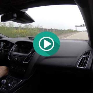 Ford Focus RS a 270 Km/h por la AUTOBAHN.