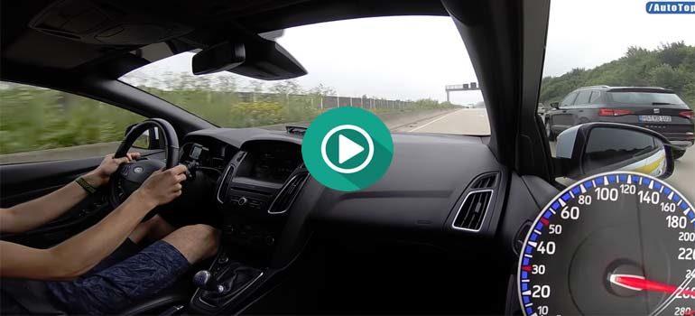 Ford Focus RS a 270 Km/h por la AUTOBAHN. 4