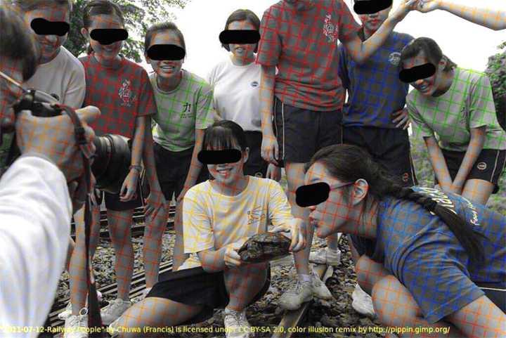 Fotos en blanco y negro que parecen a color. Ilusión óptica que se ha vuelto viral. 1